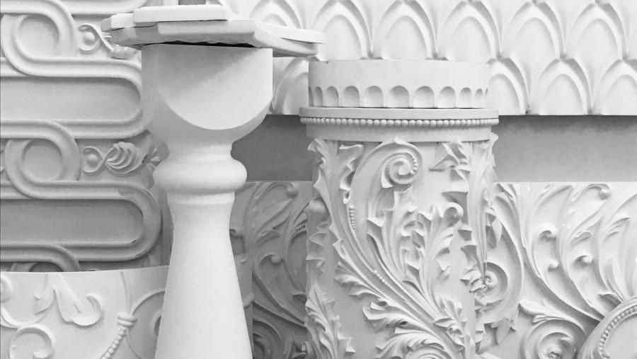 Разновидности декорированной лепнины из гипса
