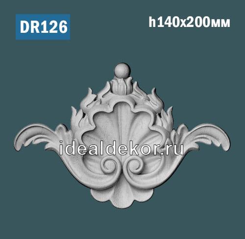 Продается dr126 средник - настенный лепной декор для рамки по цене 345 руб.