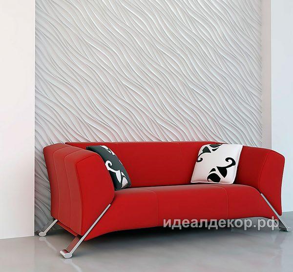 Продается pn018 - 3d панель из гипса стеновая по цене 832 руб.