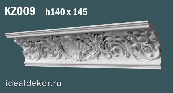 Продается kz009 гипсовый карниз с орнаментом по цене 1350 руб.