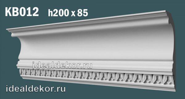 Продается kb012 гипсовый карниз с декором по цене 1410 руб.
