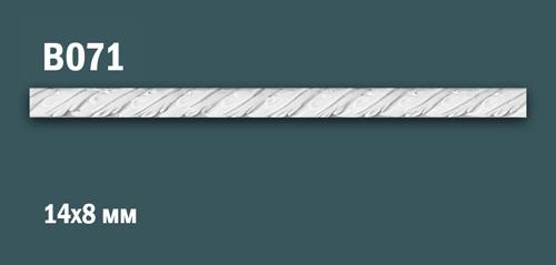 Продается декоративная гипсовая вставка (порезка) в071 по цене 199 руб.