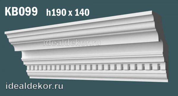 Продается kb099 гипсовый карниз с декором по цене 1360 руб.