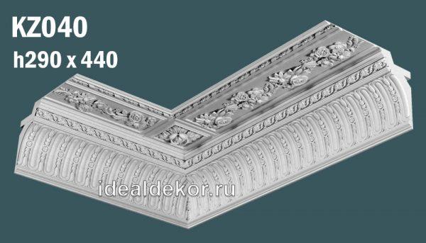 Продается kz040 гипсовый карниз сборный  по цене 4250 руб.