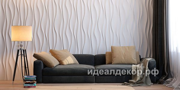 Продается pn011 - 3d панель из гипса стеновая по цене 832 руб.