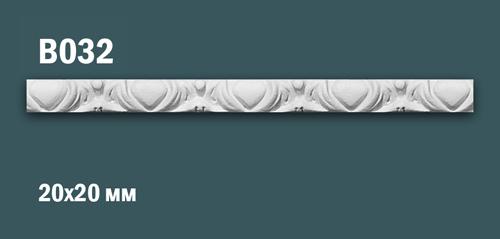 Продается декоративная гипсовая вставка (порезка) в032 по цене 199 руб.