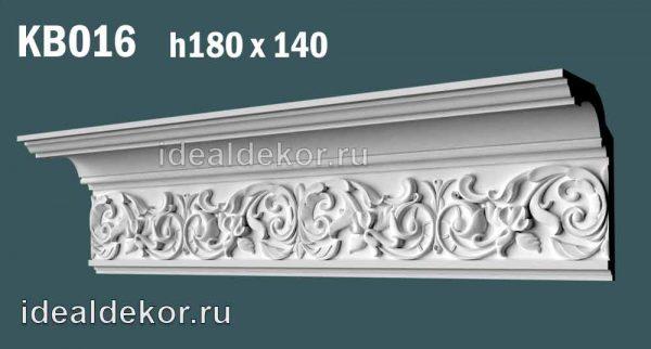 Продается kb016 гипсовый карниз с декором по цене 1577 руб.