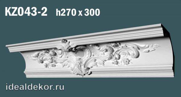 Продается kz043-2 гипсовый карниз сборный по цене 2200 руб.