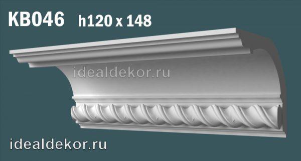 Продается kb046 гипсовый карниз с декором по цене 1244 руб.