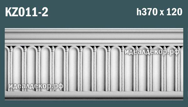 Продается kz011-2 гипсовый карниз сборный по цене 2383 руб.