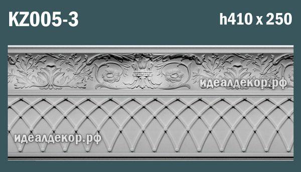 Продается kz005-3 гипсовый карниз сборный по цене 3086 руб.