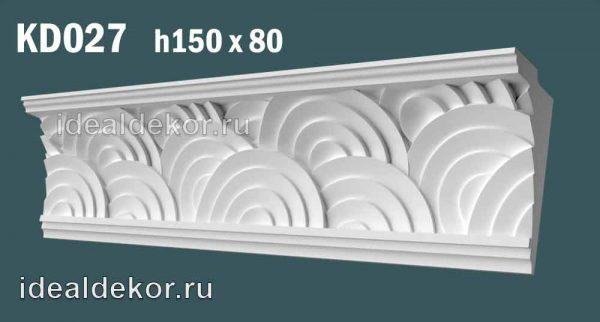 Продается kd027 гипсовый карниз с декором по цене 975 руб.