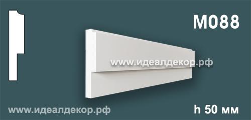 Продается m088 (гипсовый молдинг с гладким профилем) по цене 231 руб.