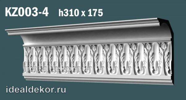 Продается kz003-4 гипсовый карниз сборный по цене 2297 руб.