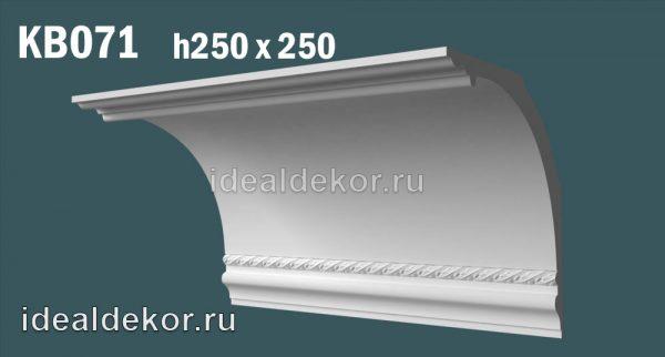 Продается kb071 гипсовый карниз с декором по цене 1687 руб.