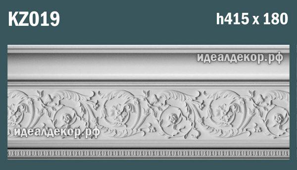 Продается kz019 гипсовый карниз сборный - h415х180мм по цене 2810 руб.