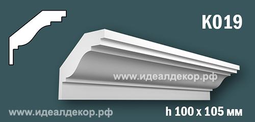 Продается к019 (гипсовый карниз с гладким профилем) по цене 659 руб.