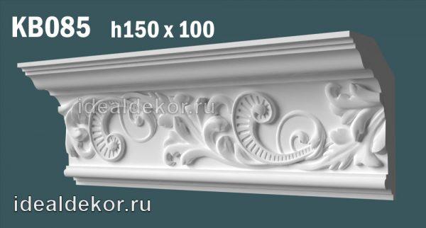 Продается kb085 гипсовый карниз с декором по цене 1474 руб.