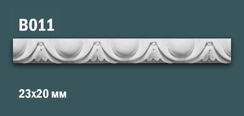 Продается декоративная гипсовая вставка (порезка) в011 по цене 199 руб.