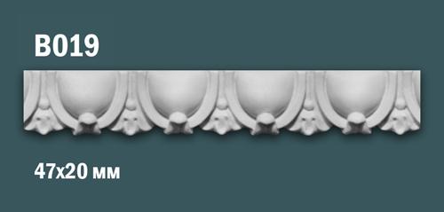 Продается декоративная гипсовая вставка (порезка) в019 по цене 305 руб.