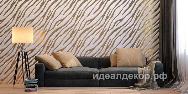 Продается pn013 - 3d панель из гипса стеновая по цене 832 руб.