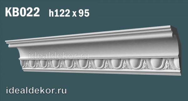 Продается kb022 гипсовый карниз с декором по цене 965 руб.