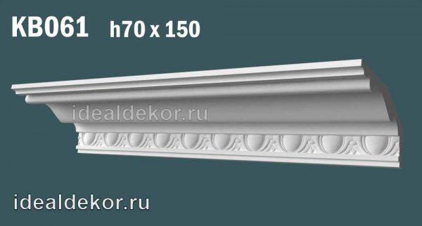 Продается kb061 гипсовый карниз с декором по цене 1037 руб.