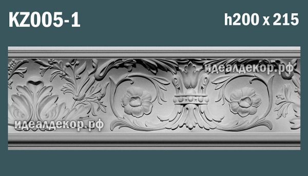 Продается kz005-1 гипсовый карниз сборный по цене 1509 руб.