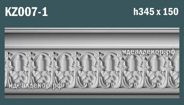 Продается kz007-1 гипсовый карниз сборный по цене 2291 руб.