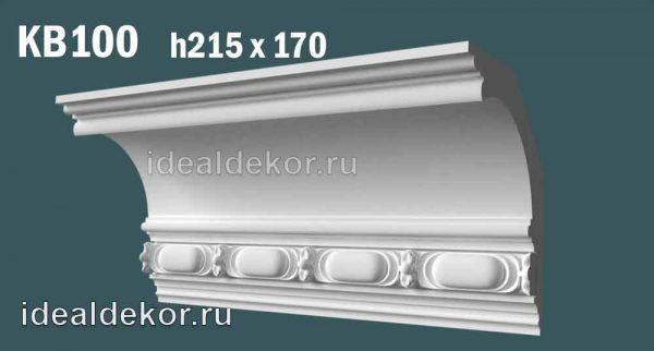 Продается kb100 гипсовый карниз с декором по цене 1550 руб.
