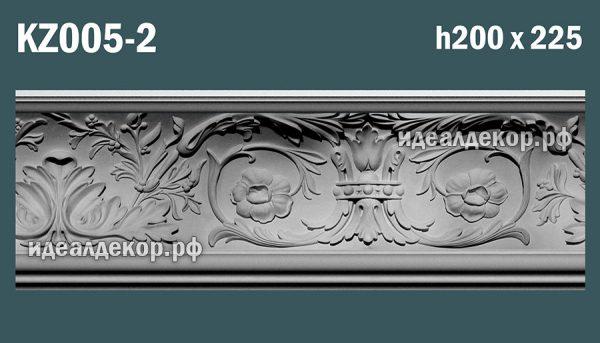 Продается kz005-2 гипсовый карниз сборный по цене 1619 руб.