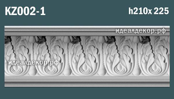 Продается kz002-1 гипсовый карниз сборный по цене 1820 руб.