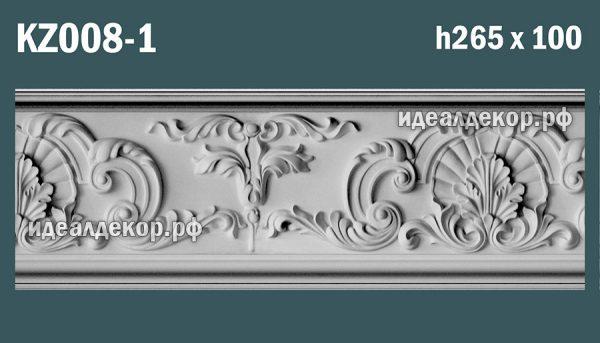 Продается kz008-1 гипсовый карниз сборный по цене 2010 руб.