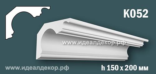 Продается к052 (гипсовый карниз с гладким профилем) по цене 1109 руб.