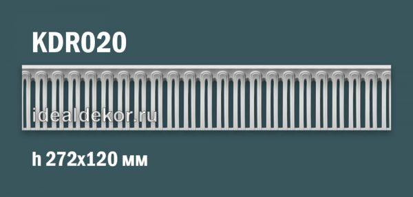 Продается kdr020 гипсовый карниз с декором - h272x120мм по цене 1670 руб.