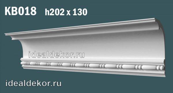 Продается kb018 гипсовый карниз с декором по цене 1309 руб.