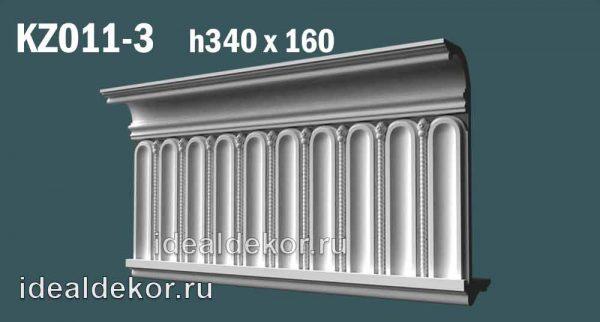 Продается kz011-3 гипсовый карниз сборный по цене 2536 руб.