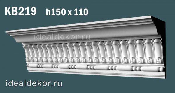 Продается kb219 гипсовый карниз потолочный с орнаментом по цене 1240 руб.