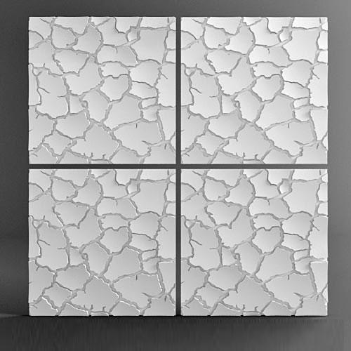 Продается pn002 - 3d панель из гипса стеновая по цене 832 руб.