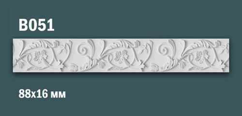Продается декоративная гипсовая вставка (порезка) в051 по цене 549 руб.