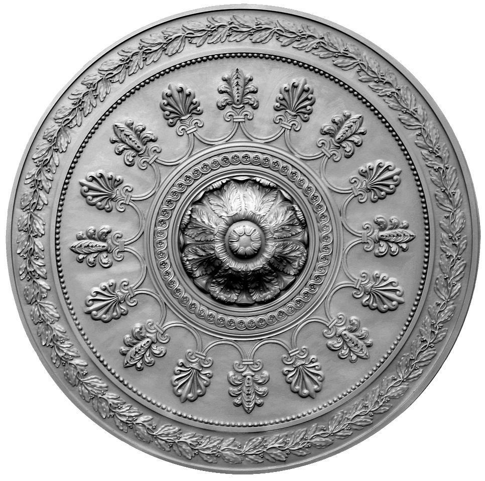 Продается потолочная розетка из гипса сборная rs508 по цене 10554 руб.