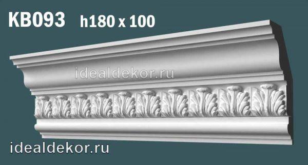 Продается kb093 гипсовый карниз с декором по цене 1250 руб.