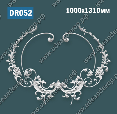 Продается dr052 элемент гипсового декора по цене 4721 руб.