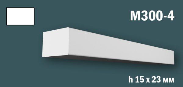 Продается m300-4 (гипсовый молдинг с гладким профилем) по цене 168 руб.