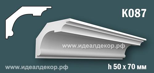 Продается к087 (гипсовый карниз с гладким профилем) по цене 388 руб.