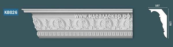 Продается kb026 гипсовый карниз с декором по цене 1499 руб.
