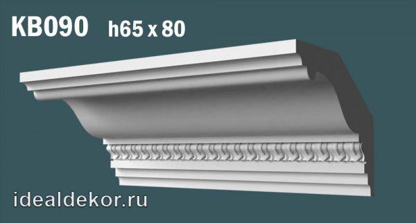 Продается kb090 гипсовый карниз с декором по цене 744 руб.