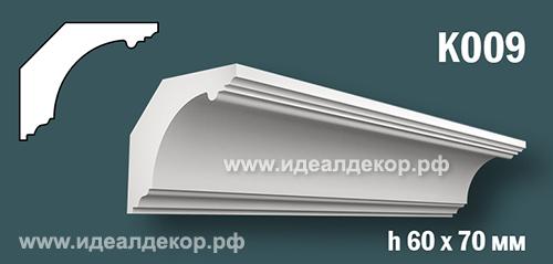 Продается к009 (гипсовый карниз с гладким профилем) по цене 388 руб.