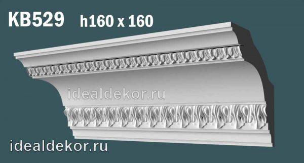 Продается kb529 гипсовый карниз потолочный с орнаментом по цене 1120 руб.