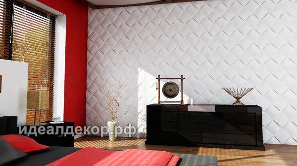 Продается pn017 - 3d панель из гипса стеновая по цене 832 руб.